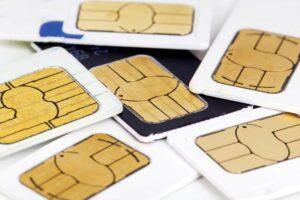 sim cards to fix service error