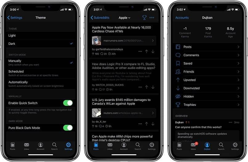 enable night mode photos