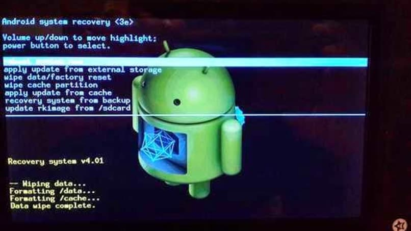 hard reset for android tablet