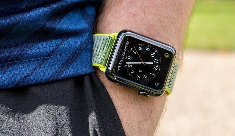 apple watch sport man