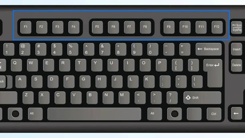 black keyboard illustration