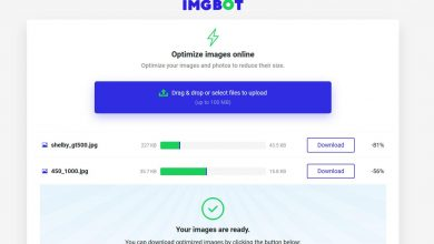 Photo of Imgbot, a complete application for photo editing without installing anything on the pc