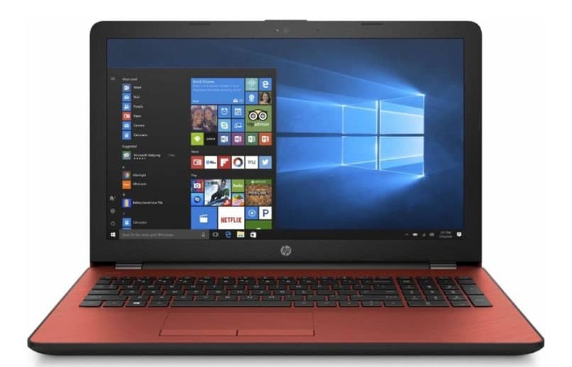 red laptop slow charge