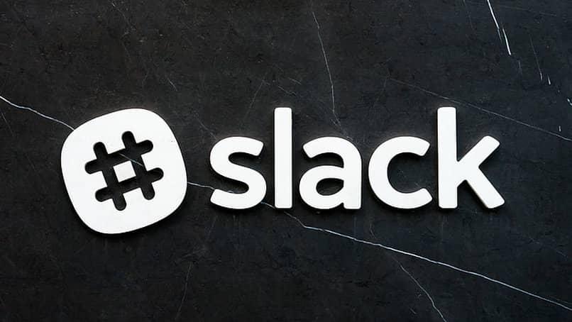 slack logo typography