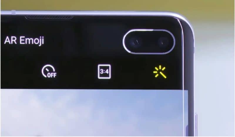 notification light on Samsung Galaxy s10