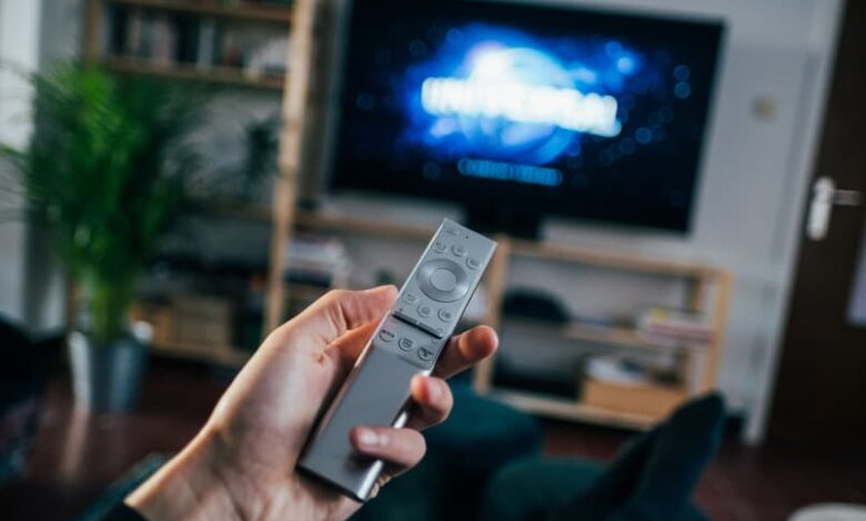 television control smart tv