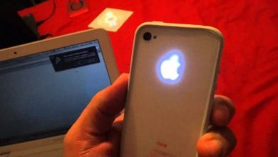 Photo of How to make the back apple of your iPhone light up