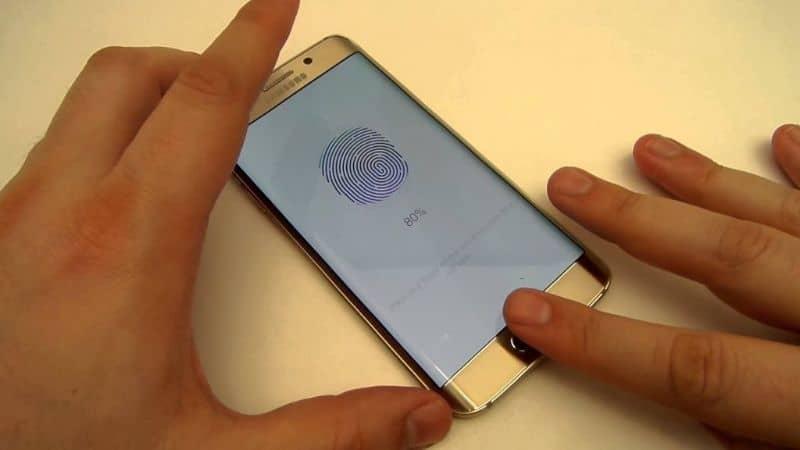 configuring Samsung with fingerprint