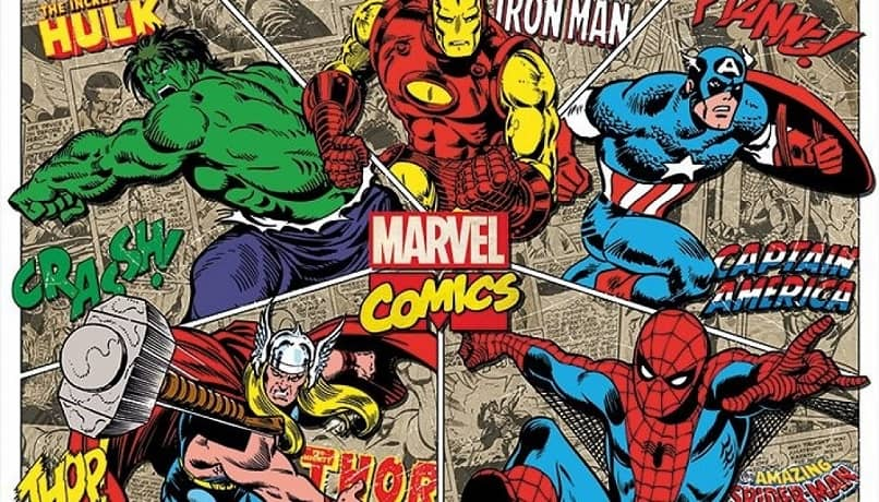 hulk iron man spiderman comics