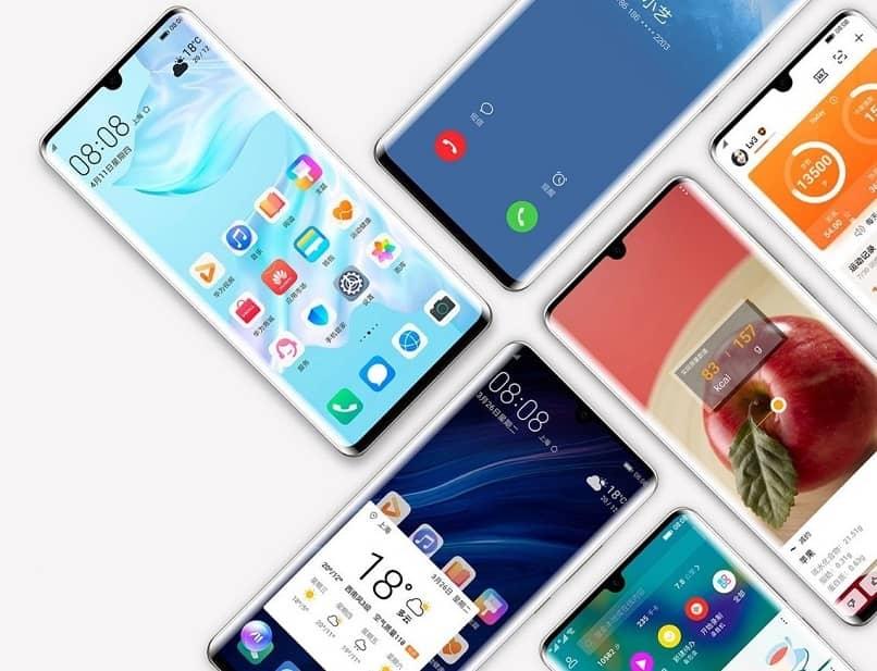 Put PIN pattern on Huawei cell phone