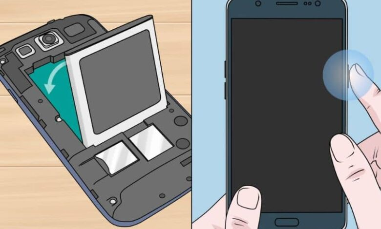 how to repair wet cell phone