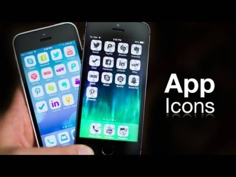 mobile phones with menu black background