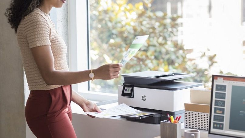 scan documents a pdf file from printer