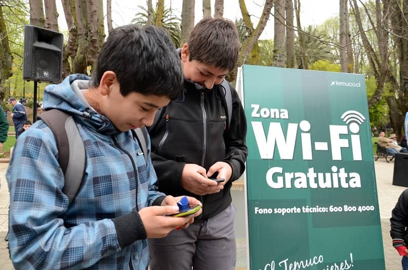internet in parks and public places