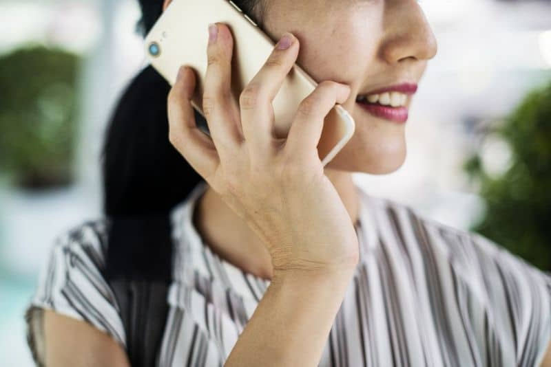 Calling with mobile