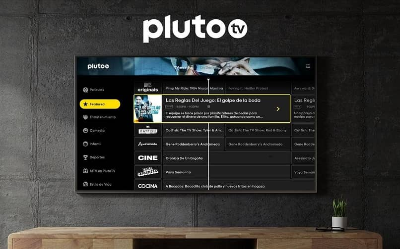 pluto tv platform watch on smart tv
