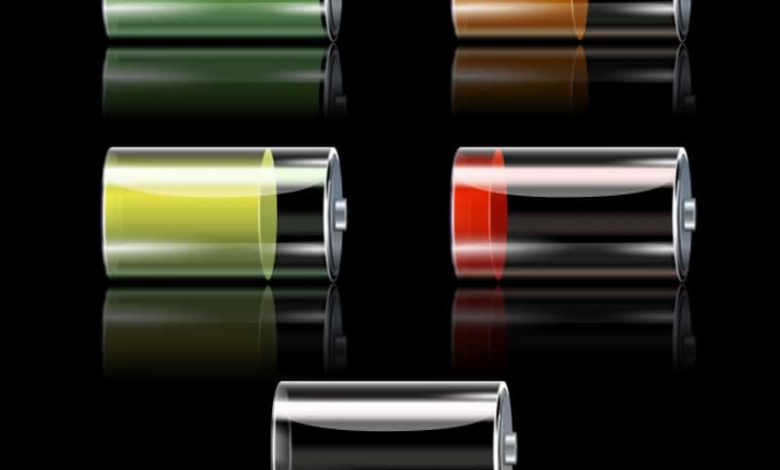 various levels of battery percentage on iphone