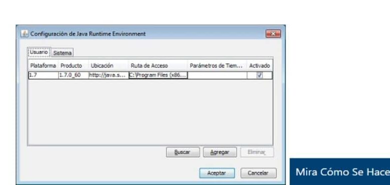 java configuration program white background