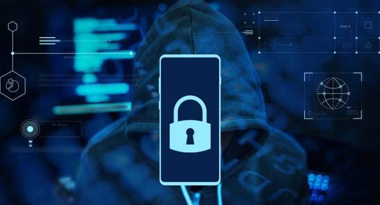 mobile security phone padlock