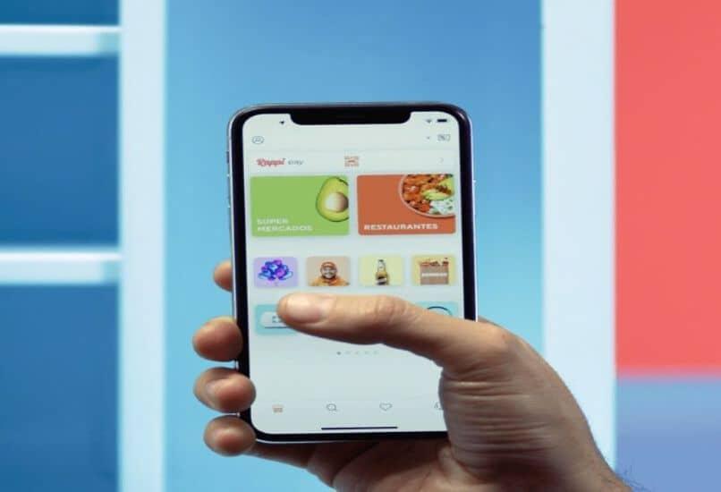 start mobile rappi app