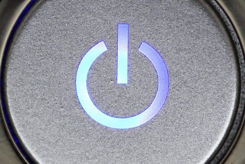 Repair power button