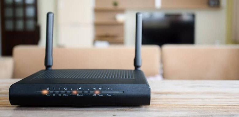 router antennas black