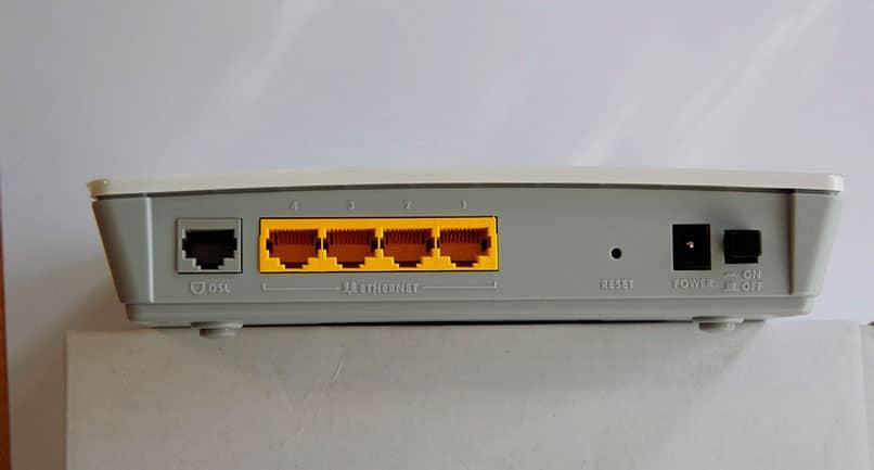 Noise on an ADSL line