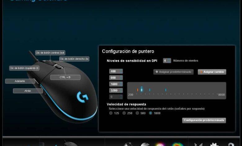 DPI Mouse Logitech