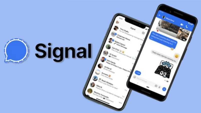 how to change letter size signal