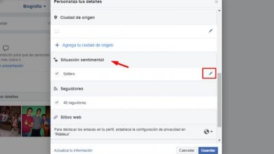 Photo of How to put a romantic relationship with someone on Facebook biography – Step by step