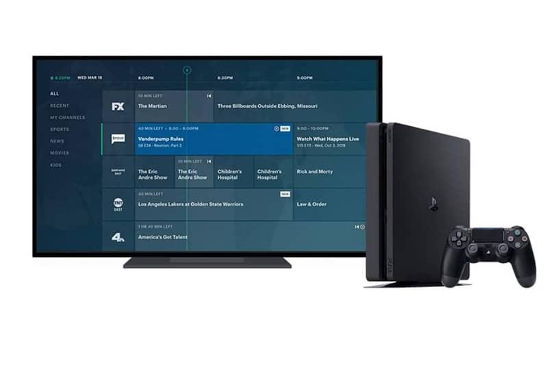 smart tv console hulu