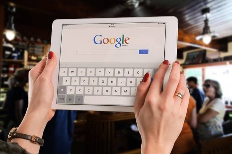 tablet with google