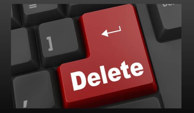 keyboard delete arrow red key