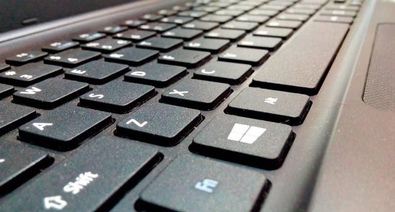 Using the English keyboard on laptop
