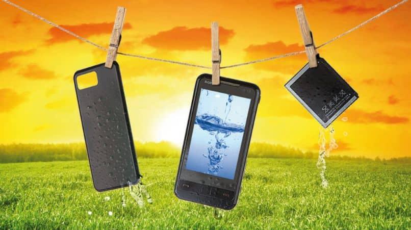 repair wet cell phone