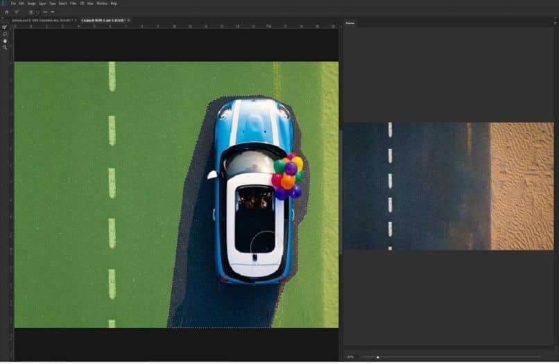how to fill based on content in photoshop