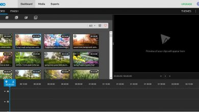 Photo of Wevideo, an application to edit videos with multiple predefined image and sound objects
