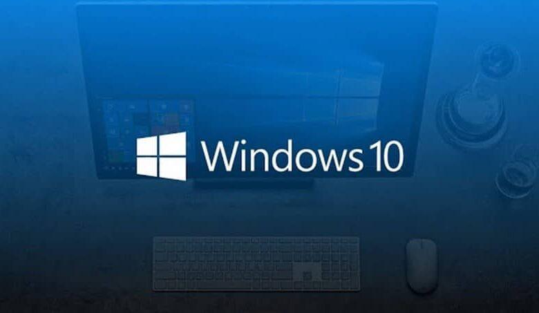 windows ten blue background