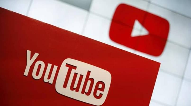 youtube logo and name with white background