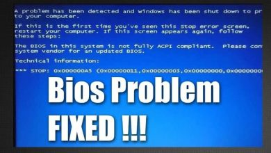 Photo of How to fix and fix acpi bios error in Windows 10 very easy