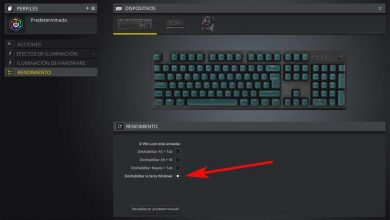 Photo of Avoid distractions when working or playing deactivating the windows key