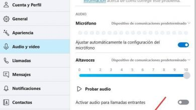 Photo of Correctly configure the mic and the camera to use it in skype