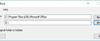 Photo of FreeMove: Move installation of an application to another drive in Windows 10