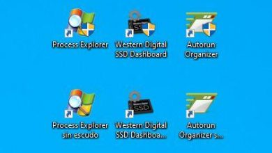 Photo of Hidden administrator shield in windows 10 icons
