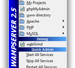 Photo of Installation and configuration of Wamp, an HTTP server, PHP and MySQL