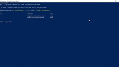 Photo of Use powershell to create and view scheduled tasks in windows