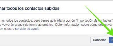 Photo of Desactivar la sincronizaci�n de contactos del celular con Facebook
