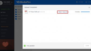 Photo of How to upload files to MediaFire