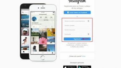 Photo of Create account register on Instagram