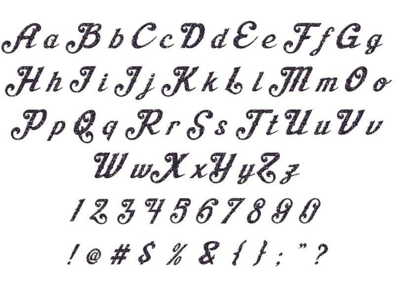 typefaces or fonts on Mac